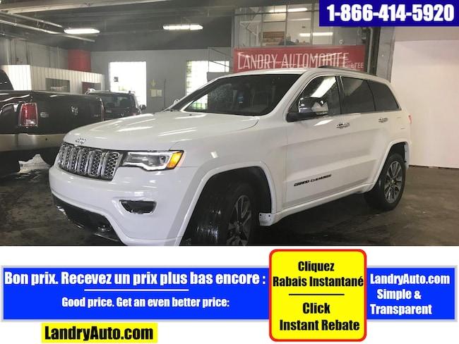 2017 Jeep Grand Cherokee OVERLAND V8 CUIR TOIT PANO GPS BI-XÉNON VUS