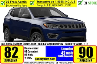 2021 Jeep Compass 80th Anniversary Edition 4x4