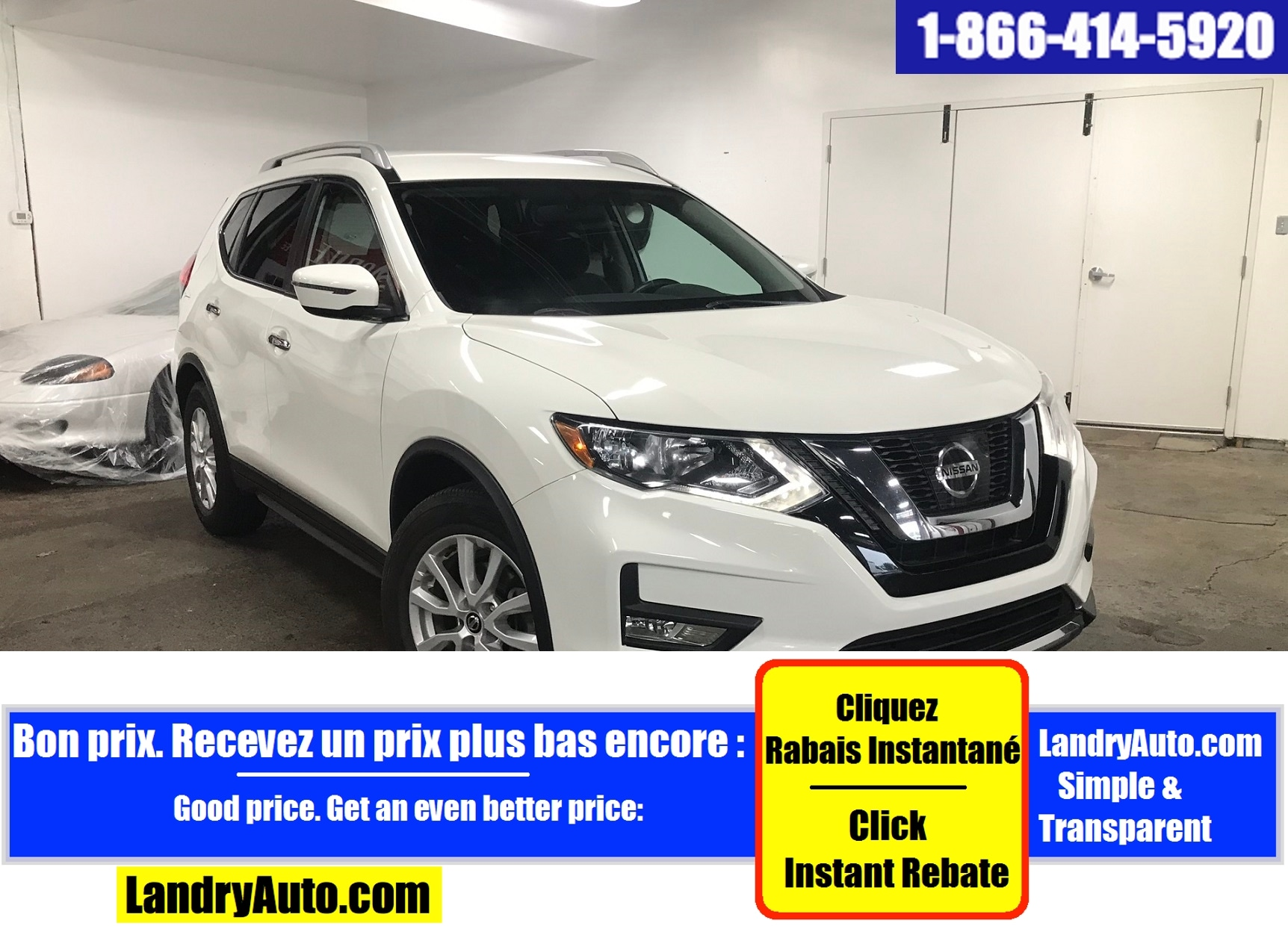 Nissan Rogue S FWD CAMERA RECUL BLUETOOTH MAGS 2017