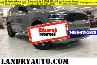 2021 Dodge Durango SXT BlackTop VUS