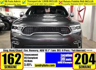 2021 Dodge Durango Citadel Anodized Platinum VUS