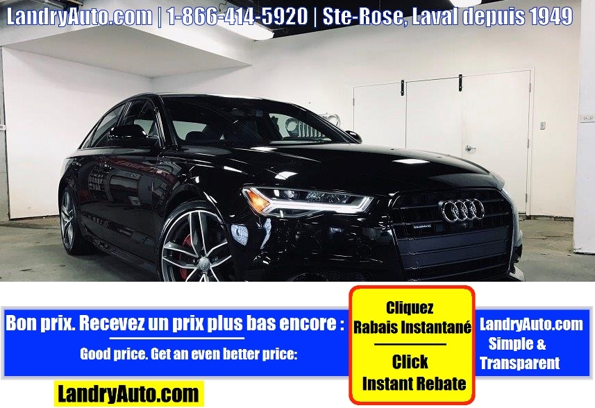 Audi A6 COMPETITION SLINE CUIR TOIT GPS MAGS 2017