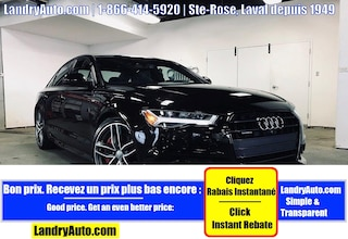 2017 Audi A6 COMPETITION SLINE CUIR TOIT GPS MAGS Sedan
