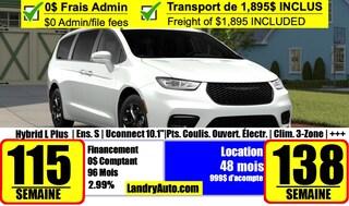 2021 Chrysler Pacifica Hybrid Touring-L Plus S Van Passenger Van