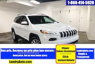 2017 Jeep Cherokee LIMITED 4X4 CUIR TOIT PANO GPS BI-XENON VUS