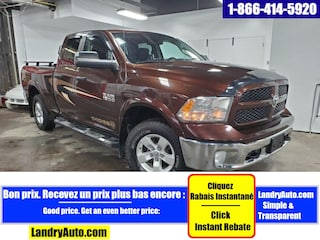 2015 Ram 1500 OUTDOORSMAN QUAD V6 4X4 CAMERA MAGS Camion