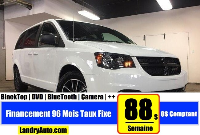 2019 Dodge Grand Caravan Black Top Van