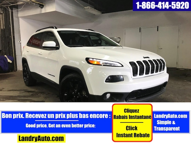2016 Jeep Cherokee NORTH ALTITUDE 4X4 BLUETOOTH MAGS  VUS