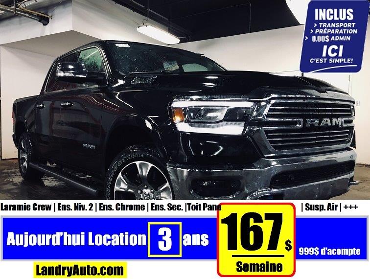 2019 Ram All-New 1500 Laramie Etorq | Prix Employés | Camion cabine Crew