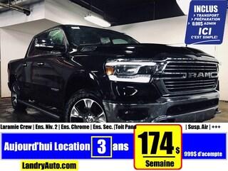 2019 Ram All-New 1500 Laramie Etorq | Prix Employés | Truck Crew Cab
