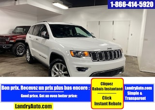 2017 Jeep Grand Cherokee LIMITED 4X4 TOIT CUIR CAMERA MAGS VUS