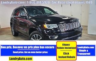 2017 Jeep Grand Cherokee OVERLAND 4X4 CUIR TOIT PANO GPS  VUS