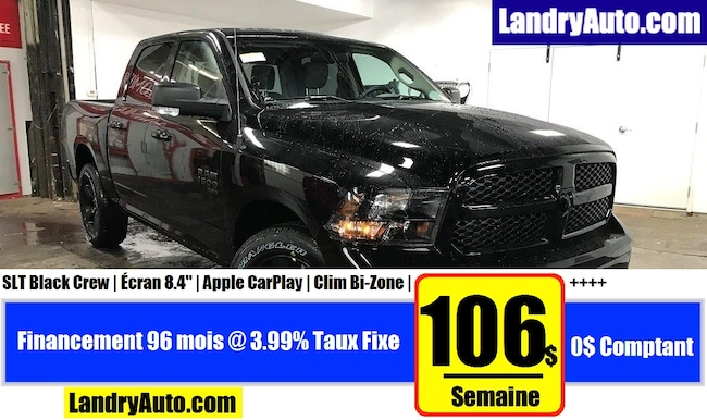 2019 Ram 1500 Classic SLT Black Edition Camion cabine Crew
