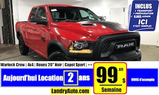 2019 Ram 1500 Classic Warlock V6 Camion cabine Crew