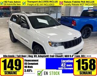 2021 Jeep Grand Cherokee 80th Anniversary Edition VUS