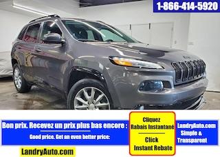 2018 Jeep Cherokee NORTH 4X4 GPS CAMERA MAGS BI-XENON VUS