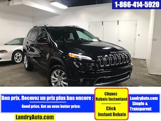 2015 Jeep Cherokee LIMITED CUIR TOIT PANO GPS BI-XENON VUS