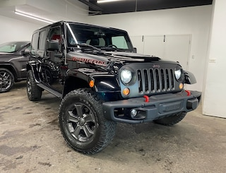 2018 Jeep Wrangler Unlimited RUBICON RECON EDITION 4X4 2 TOITS CUIR GPS VUS