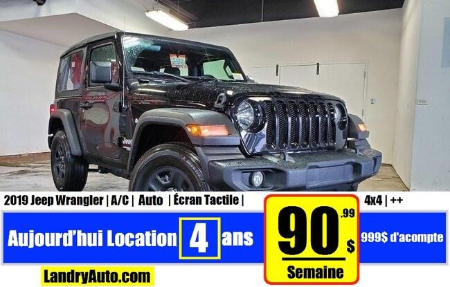 2019 Jeep Wrangler Sport VUS