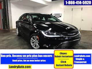 2015 Chrysler 200 LIMITED V6 CAMERA BLUETOOTH A/C MAGS Berline