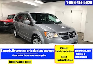 2015 Dodge Grand Caravan CREW PLUS STOW CUIR GPS CAMERA Mini-Fourgonnette
