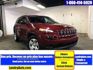 2015 Jeep Cherokee SPORT FWD BLUETOOTH GROUPE ELECTRIQUE VUS