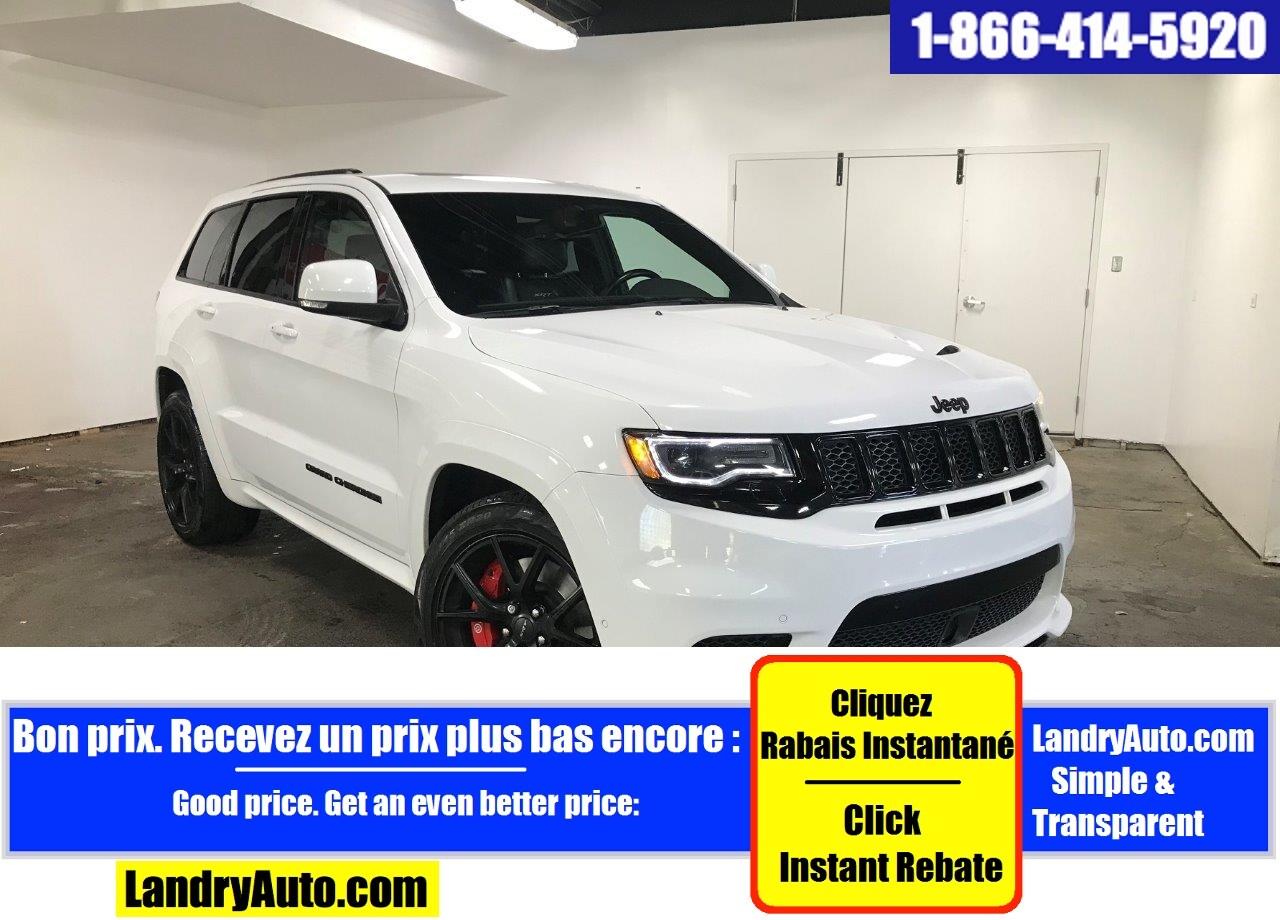 Jeep Grand Cherokee SRT V8 CUIR TOIT PANO GPS MAGS BI-XENON 2018