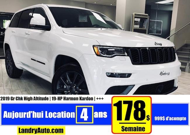 2019 Jeep Grand Cherokee High Altitude VUS