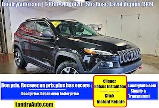 2015 Jeep Cherokee TRAILHAWK CUIR TOIT PANO GPS MAGS VUS