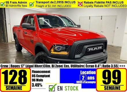 2021 Ram 1500 Classic Warlock Camion cabine Crew