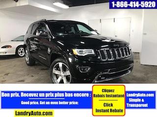 2015 Jeep Grand Cherokee OVERLAND DIESEL TOIT PANO GPS XENON VUS
