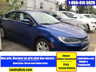 2016 Chrysler 200 LIMITED FWD CAMERA BLUETOOTH MAGS Berline
