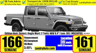 2021 Jeep Gladiator Black Appearance Package Camion cabine Crew