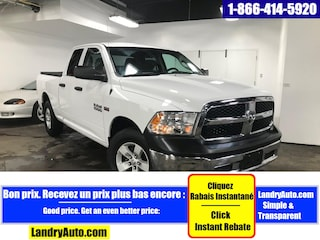 2018 Ram 1500 SXT QUAD V8 4X4 A/C MAGS Camion