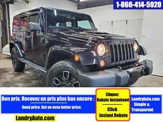 2018 Jeep Wrangler Unlimited ALTITUDE 4X4 2 TOITS CUIR GPS MAGS VUS