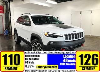 2020 Jeep Cherokee Trailhawk Elite   Prix Employés    VUS