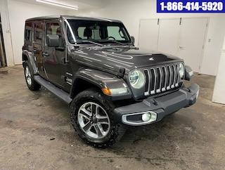 2019 Jeep Wrangler Unlimited SAHARA 4X4 GPS CAMERA A/C MAGS VUS