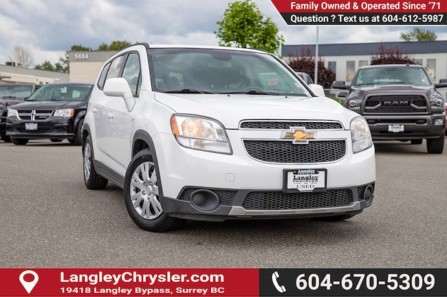2013 Chevrolet Orlando 1LT