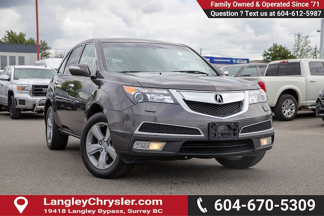 2011 Acura MDX Technology Package