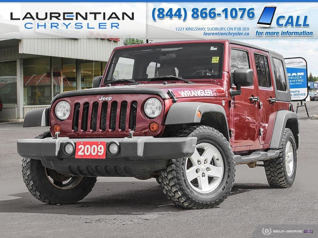 2009 Jeep Wrangler Unlimited X - JOIN THE JEEP OUTDOOR ADVENTURE !! 4WD  X