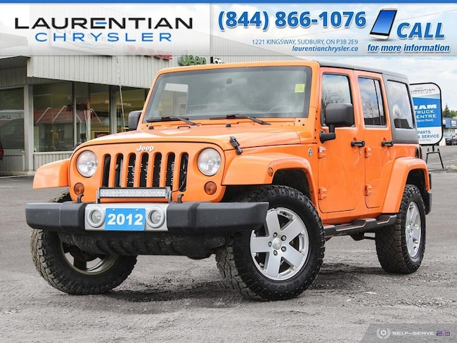 2012 Jeep Wrangler Unlimited Sahara - JOIN THE JEEP OUTDOOR ADVENTURE !! 4WD  Sahara