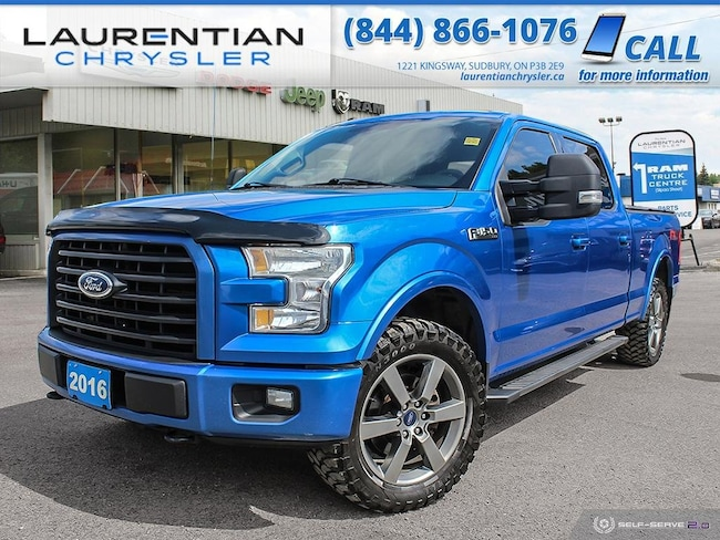 2016 Ford F-150 XLT - CHECK OUT THIS BLUE BEAUTY !! 4WD SuperCrew 145 XLT