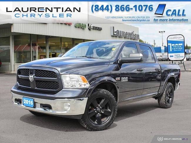2016 Ram 1500 Outdoorsman - TRY RAM POWER AND CAPABILITY ! 4WD Crew Cab 140.5 Outdoorsman