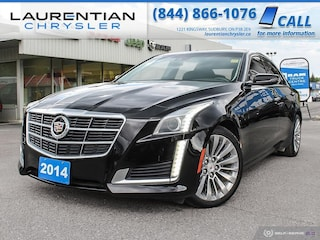 2014 Cadillac CTS Sedan LUXURY - DRIVE AWD CAPABILITY WITH AMAZING STYLING Sedan
