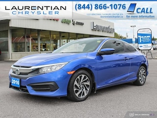 2016 Honda Civic Coupe LX - EYE CATCHING, COMPACT AND EFFICIENT ! Man LX