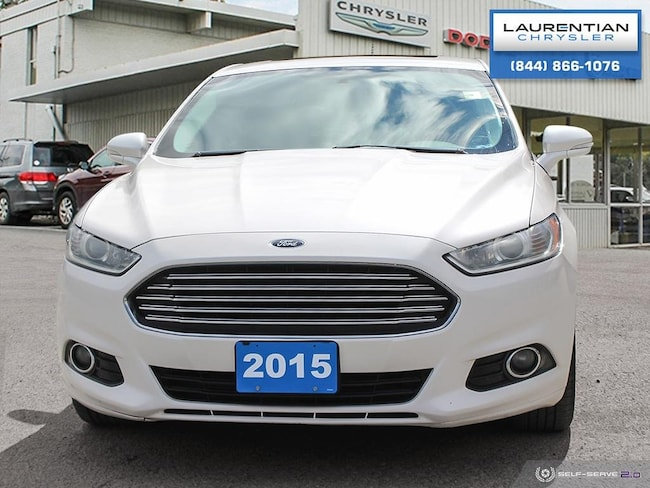 Used 2015 Ford Fusion For Sale At Laurentian Chrysler Dodge