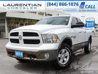 2013 Ram 1500 Outdoorsman - CLEAN, TOW PACKAGE, BLUETOOTH!! 4WD Quad Cab 140.5 Outdoorsman