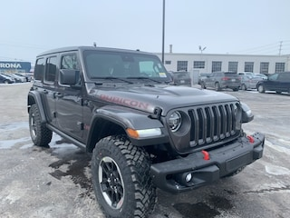 2021 Jeep Wrangler Unlimited Rubicon 4x4 for sale in Leamington, ON Granite Crystal Metallic