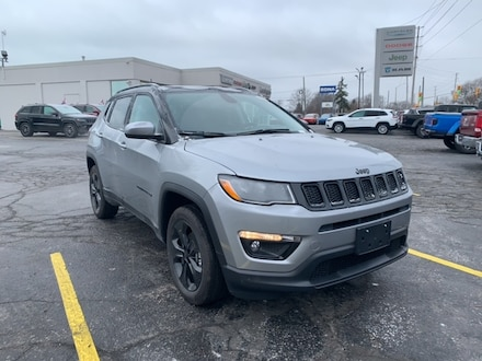 2021 Jeep Compass Altitude SUV for sale in Leamington, ON Billet Silver Metallic