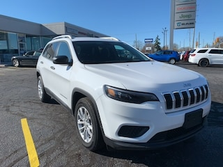 2020 Jeep Cherokee Sport SUV for sale in Leamington, ON Bright White